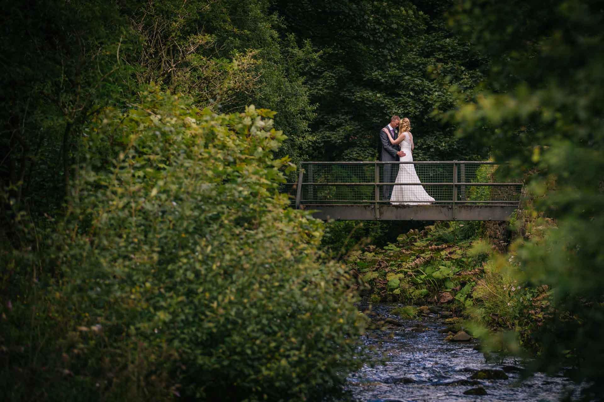 Emma & Mark's Gradbach Mill Countryside Wedding