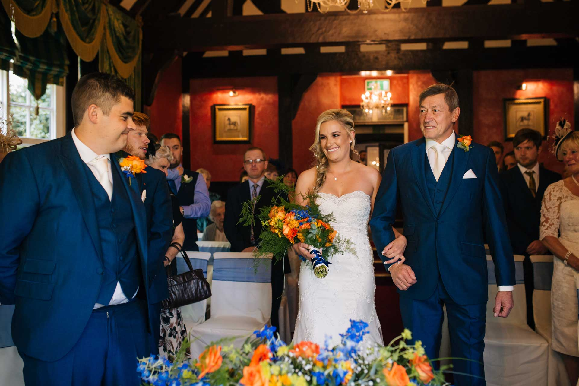 Stacey & Andrew's Wedding Mere Court Hotel, Cheshire