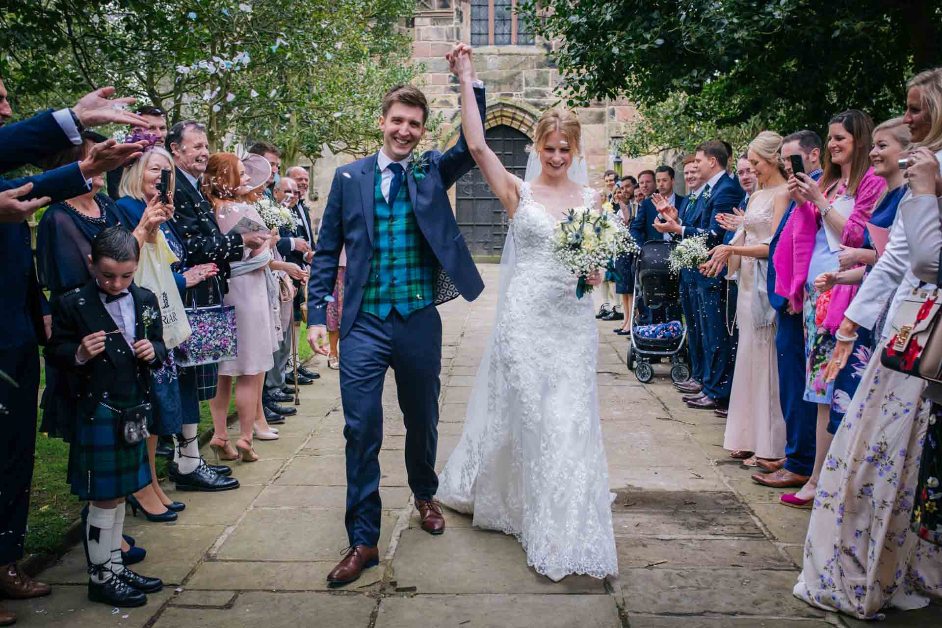 Alison & Joe's Prestbury Church Wedding, Cheshire - Joanna Eardley Photography