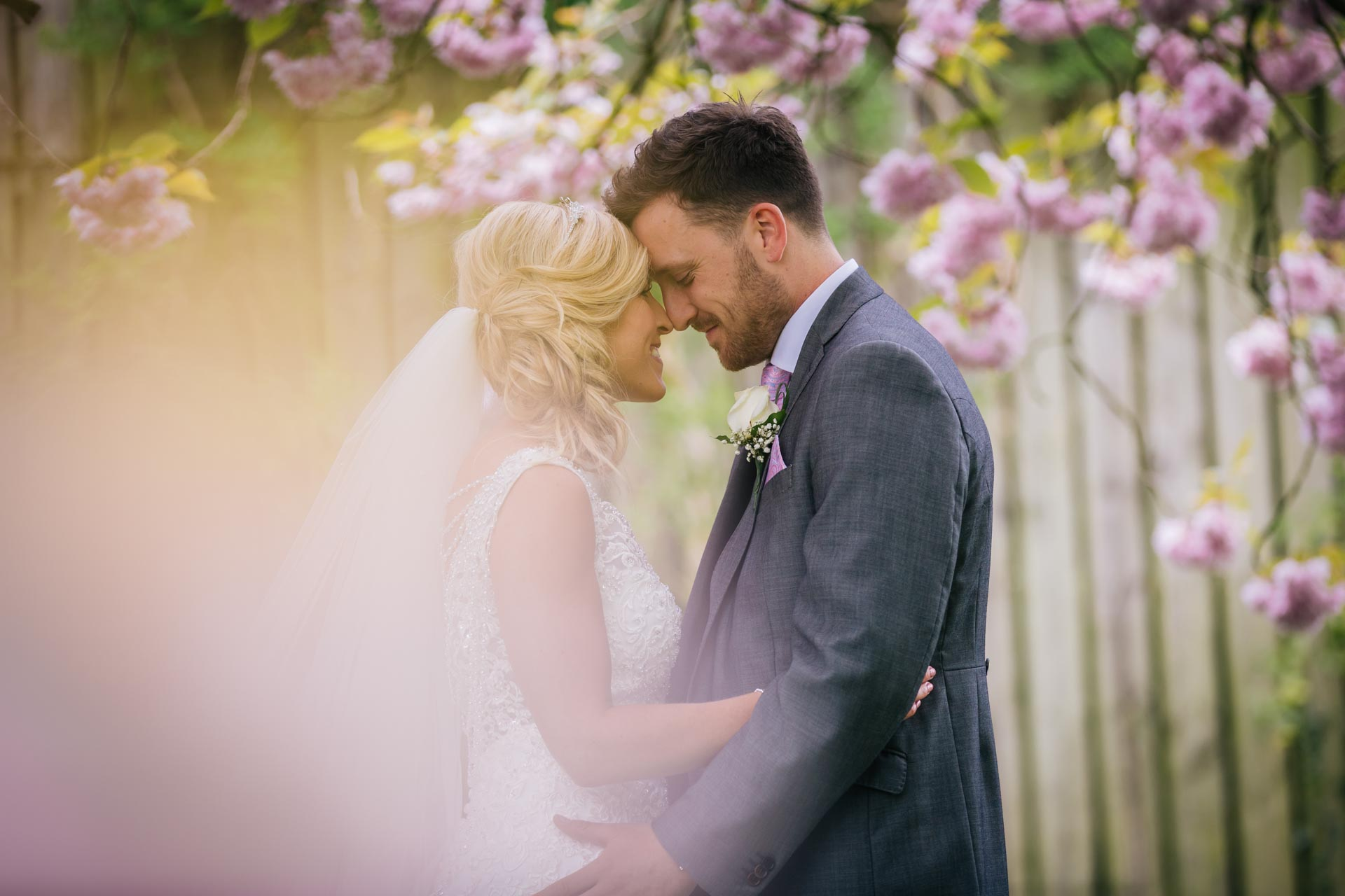 Becky & Dayle's Spring wedding. Rustic wedding in Cheshire