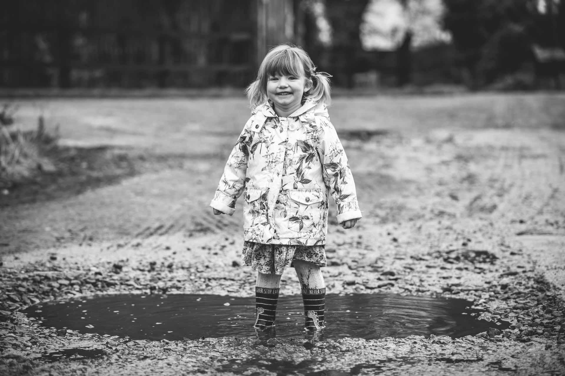 Jump in muddy puddles Joanna Eardley Photography