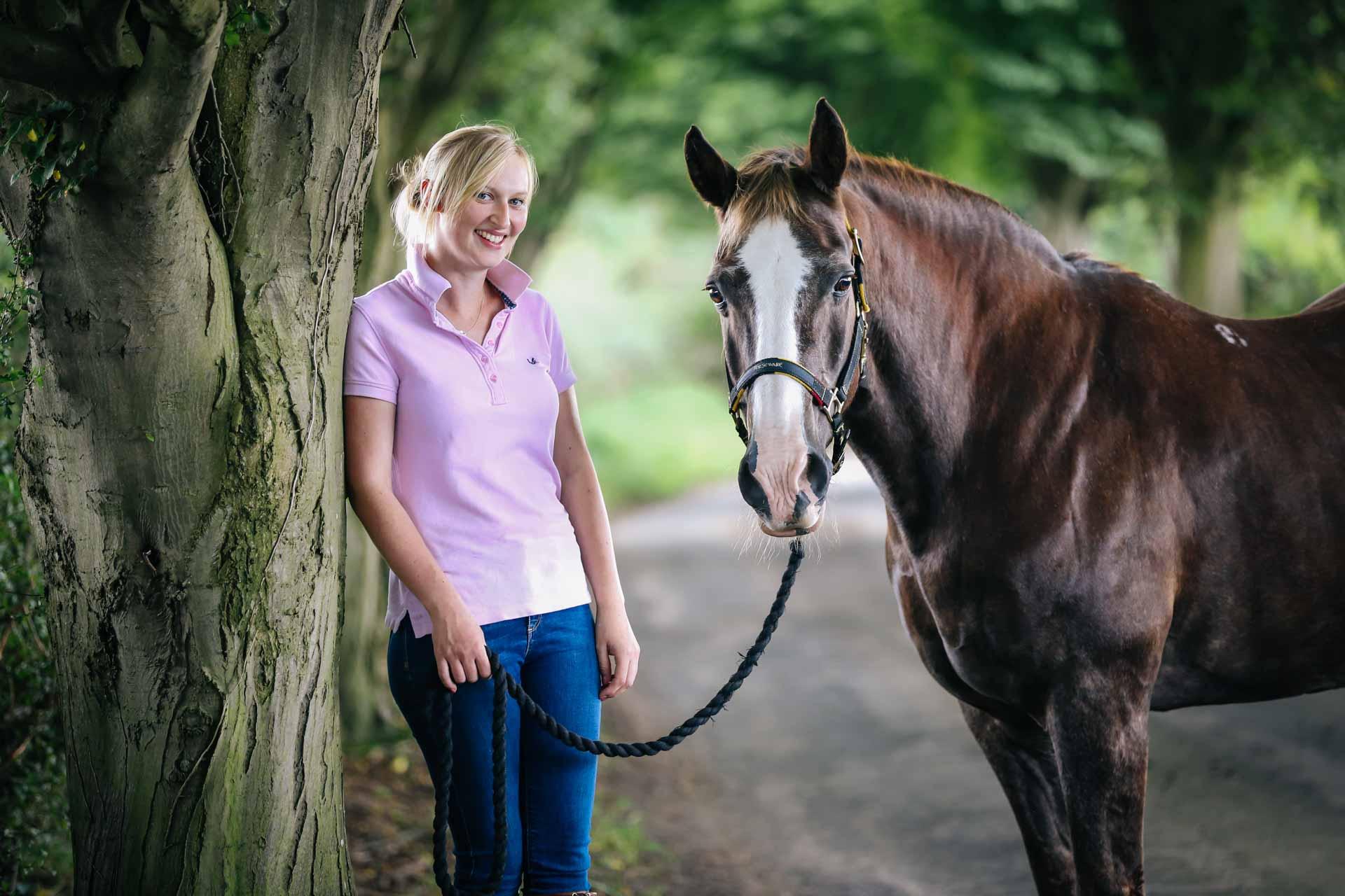Equine Portrait at Home - Horse Portraits