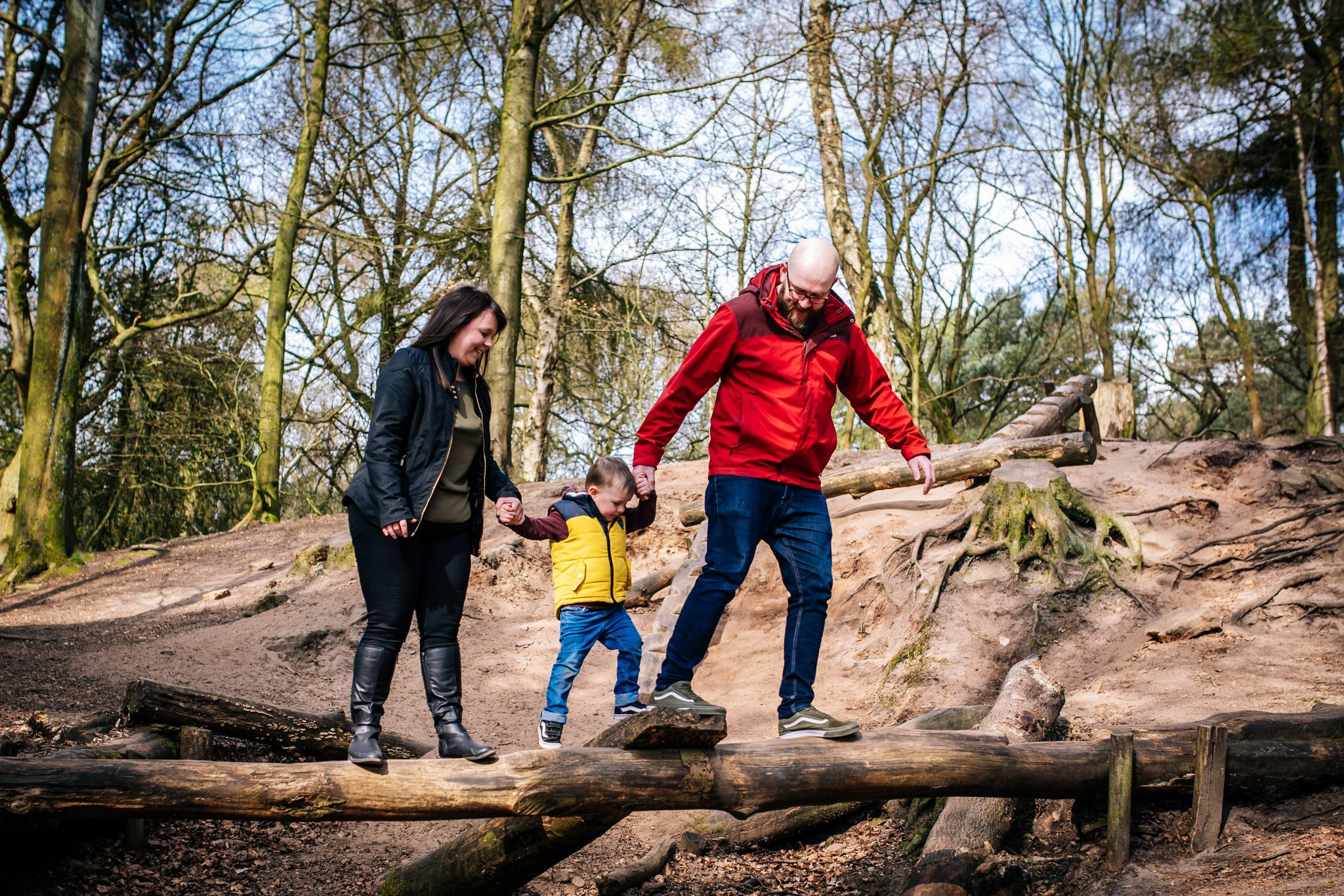 Woodland family portraits cheshire