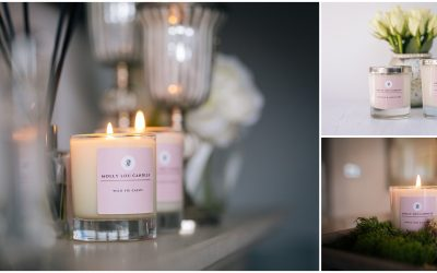Molly Lou Candles-Business Branding Photography